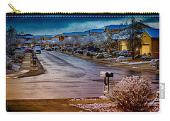 Oro Valley Winter No.54 Carry-all Pouch by Mark Myhaver