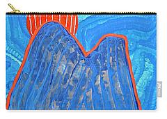 Os Dois Irmaos Original Painting Sold Carry-all Pouch by Sol Luckman