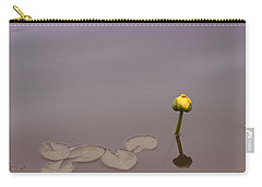 Carry-all Pouch featuring the photograph Osaka Garden Tranquility by Miguel Winterpacht