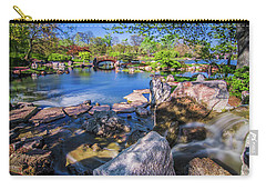 Osaka Japanese Garden Carry-all Pouch by Jonah  Anderson