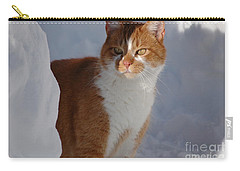 Carry-all Pouch featuring the photograph Otis by Christiane Hellner-OBrien