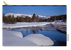 Carry-all Pouch featuring the photograph Otter Creek by Jack Bell