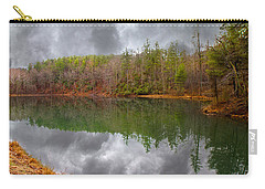 Otter Lake Reflections Carry-all Pouch