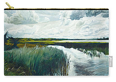 Otter Tail River From Bridge Carry-all Pouch