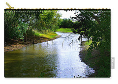 Our Fishing Hole Carry-all Pouch by Peter Piatt