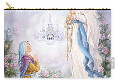Our Lady Of Lourdes Carry-all Pouch