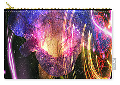 Our Love Is Now Forever Entwined Carry-all Pouch by Absinthe Art By Michelle LeAnn Scott