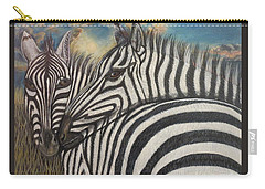 Our Stripes May Be Different But Our Hearts Beat As One Carry-all Pouch