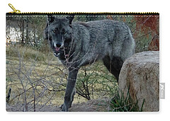Out Of Africa Black Wolf Carry-all Pouch