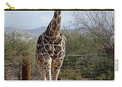 Out Of Africa  Giraffe 1 Carry-all Pouch
