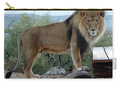 Out Of Africa  Lion 1 Carry-all Pouch