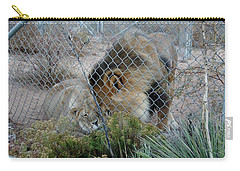 Out Of Africa Lions 4 Carry-all Pouch