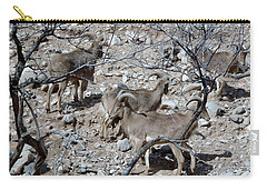 Out Of Africa  Mountain Goats Carry-all Pouch