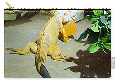 Out Of Africa Orange Lizard 2  Carry-all Pouch