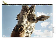 Out Of Africa  Reticulated Giraffe Carry-all Pouch