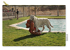 Out Of Africa Tiger Splash 2 Carry-all Pouch