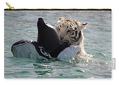 Out Of Africa Tiger Splash 4 Carry-all Pouch
