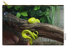 Out Of Africa Tree Snake Carry-all Pouch
