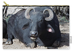 Out Of Africa  Water Buffalo Carry-all Pouch