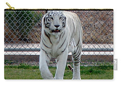 Out Of Africa White Tiger Carry-all Pouch