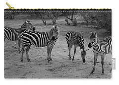Out Of Africa  Zebras Carry-all Pouch