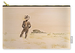 Carry-all Pouch featuring the painting Out There by Michele Myers