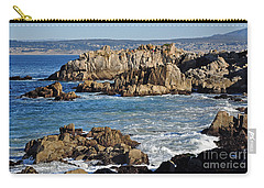 Outcroppings At Monterey Bay Carry-all Pouch