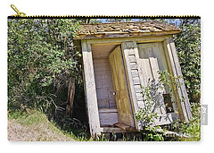 Outhouse For Two Carry-all Pouch by Sue Smith