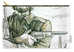 Outlaw Josey Wales Carry-all Pouch by Bern Miller