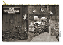 Outside The Old Motorcycle Shop - Spia Carry-all Pouch