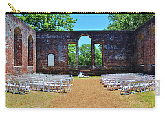 Outside Wedding Carry-all Pouch by Cynthia Guinn