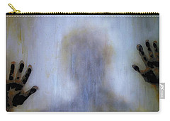 Carry-all Pouch featuring the painting Outsider by Lilia D