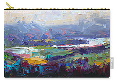 Overlook Abstract Landscape Carry-all Pouch