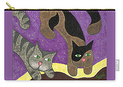 Over Cover Cats Carry-all Pouch