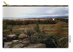 Carry-all Pouch featuring the photograph Over The Battle Field Of Gettysburg by Amazing Photographs AKA Christian Wilson