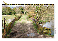 Carry-all Pouch featuring the photograph Over The River by Wendy Wilton