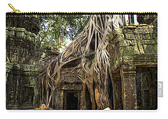 Overgrown Jungle Temple Tree  Carry-all Pouch