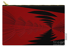 Red And Black Design Carry-all Pouch