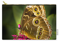 Owl Butterfly With A Hat Carry-all Pouch