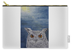 Owl By Moonlight Carry-all Pouch