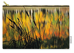 Carry-all Pouch featuring the photograph Owl Creek Pass Fall 3 by Susan Rovira