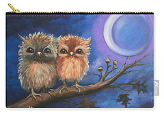 Owl Be There For You Carry-all Pouch by Agata Lindquist