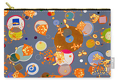 Owls Hangin Around Carry-all Pouch by Beth Saffer