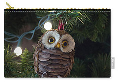 Owly Christmas Carry-all Pouch