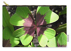 Oxalis Deppei Named Iron Cross Carry-all Pouch by J McCombie