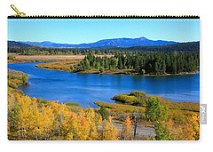 Oxbow Bend Grand Teton National Park Carry-all Pouch by Aidan Moran