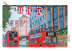 Oxford Street- Queen's Diamond Jubilee  Carry-all Pouch