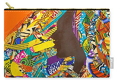 Carry-all Pouch featuring the tapestry - textile Oya I by Apanaki Temitayo M