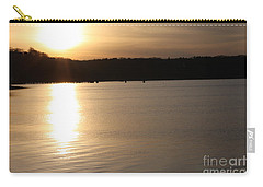 Carry-all Pouch featuring the photograph Oyster Bay Sunset by John Telfer