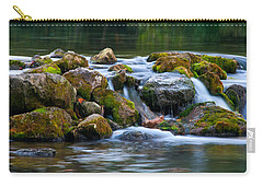 Ozark Waterfall Carry-all Pouch by Steve Stuller